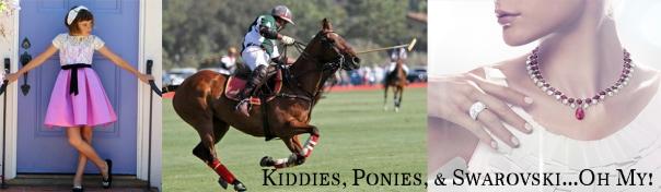 kiddies ponies swarovski copy